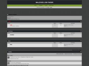 MALDIVES JOB FINDER