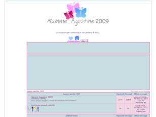 mamme agostine 2009