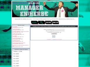 MANAGER EN HERBE - Le jeu de management en ligne made in JPL !