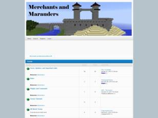 Merchants and Marauders Minecraft Server