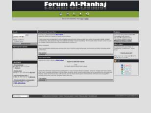 Forum Al Manhaj As Salaf