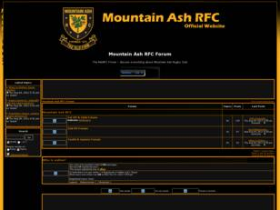 Free forum : Mountain Ash RFC Forum