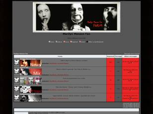 Forum gratis : Marilyn Manson Fan