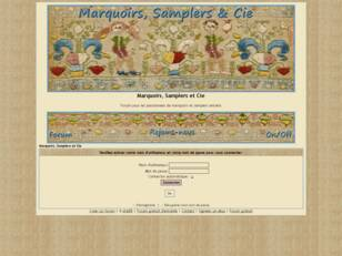 Marquoirs Samplers et Cie