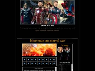 Marvel War RPG