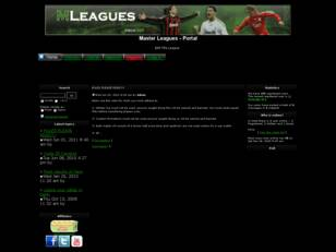 Free forum : Master Leagues