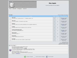 Forum Max Apple