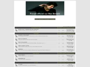 Forum officiel sur Max Boublil