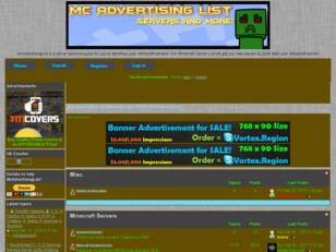 McAdvertisingList - Advertise your Minecraft Servers Here Now!