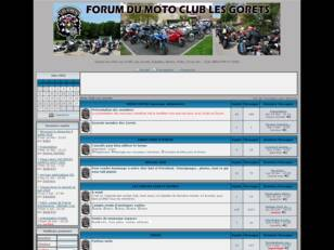 Forum Moto Club Les Gorets
