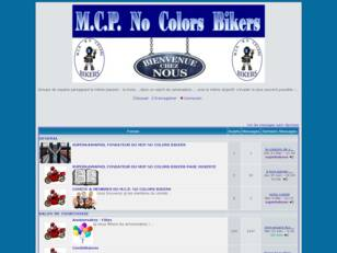 Mcp No Colors Bikers