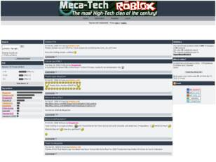 Meca-Tech Official Forums
