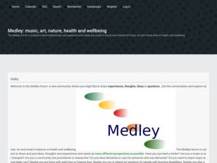 Medley:music, art, nature and wellbeing