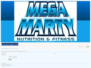 Mega Marty Nutrition & Fitness