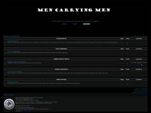 Men Carrying Men