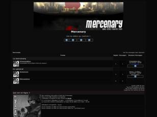 creer un forum : Mercenary