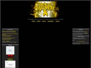 Metal Mayhem Forums