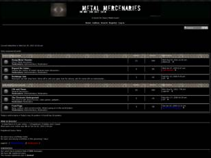 Metal Mercenaries