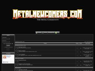 Metalnewcomers.com