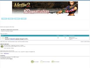 Forum gratis : Metin 2 Massacration Fórum Club