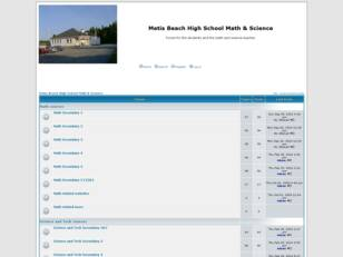 Metis Beach High School Math & Science