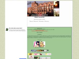 Forum gratuit : Miami University