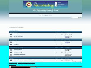 Free forum : UPM Microbiology Research Group