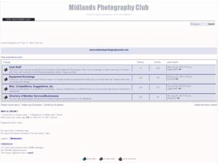 Free forum : Midlands Photography Club
