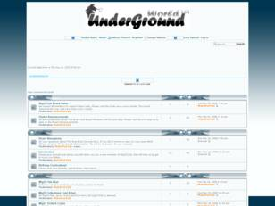 Free forum : UnderGround World 2008
