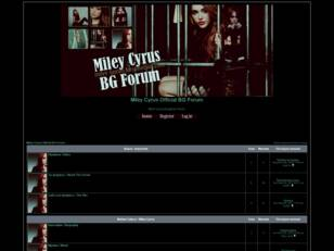 Miley Cyrus Official BG Forum