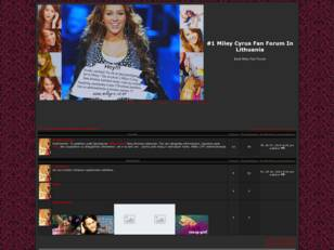 #1 Miley Cyrus Fan Forum In Lithuania