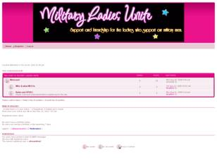 Forum gratuit : Free forum : Military Ladies Unite