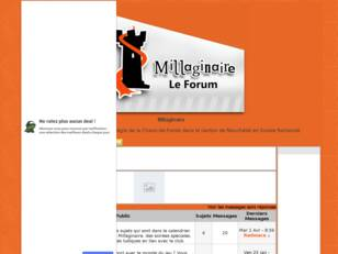 Forum de MILLAGINAIRE