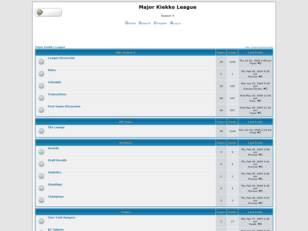 Free forum : Major Kiekko League
