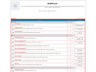 MLBPPLand - Community run Forum