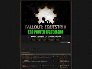 Fallout Equestria: The Fourth Wasteland