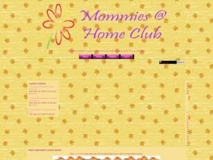 Mommies At Home Club