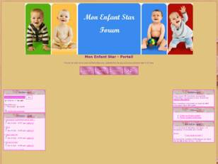 creer un forum : Mon Enfant Star