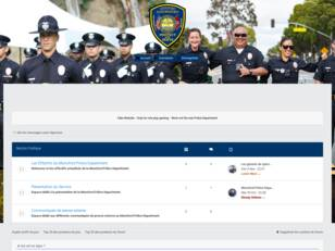 Intranet du Monoford Police Department