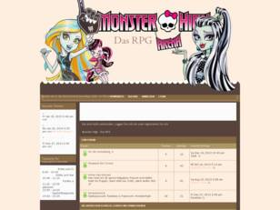 Monster High - Das RPG