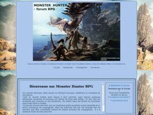 Monster Hunter rpg