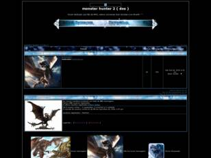Forum gratis : monster hunter 2 ( dos )