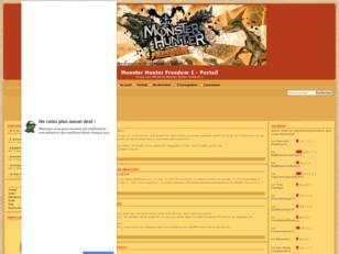 Forum non-officiel de Monster Hunter Freedom 1