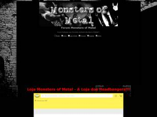 Forum Monsters of Metal - Comunidade Metal/Rock!