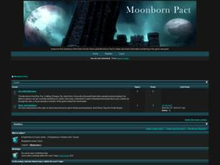 Free forum : Moonborn Pact