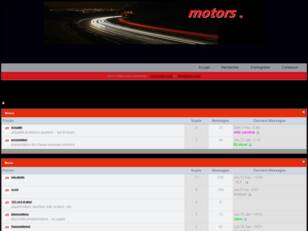 creer un forum : motors