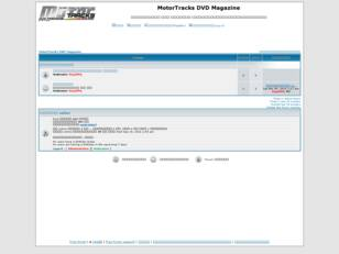 MotorTracks DVD Magazine Forum