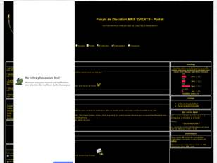 Forum de Discution MRS EVENTS