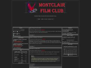 Montclair State University Film Club Forum