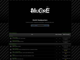 Foro gratis : MuGrE Headquarters